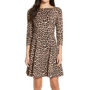 NWT Kate Spade Leopard Dress
